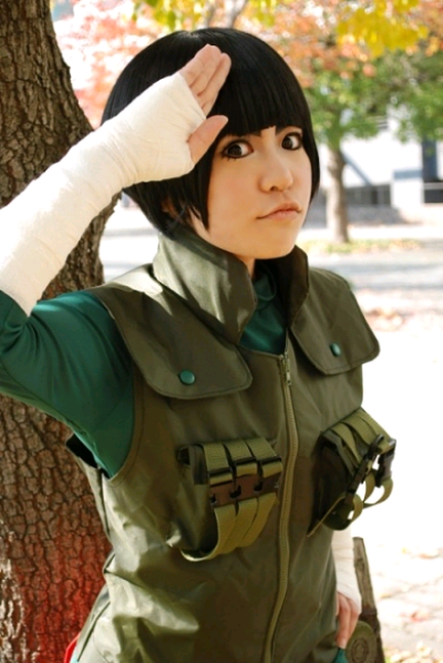 Cosplay Rock Lee