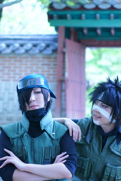 Cosplay Izumo Kamizuki et Hagane Kotetsu