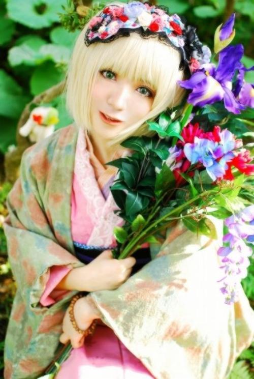 Cosplay Shiemi Moriyama