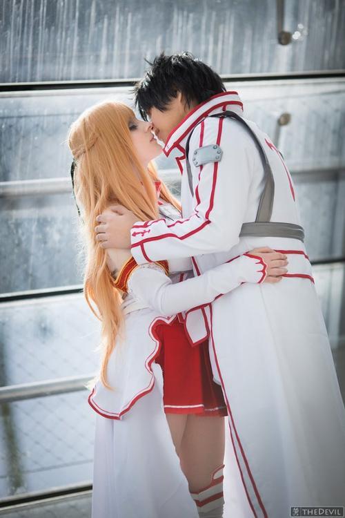 Cosplay Asuna et Kirito