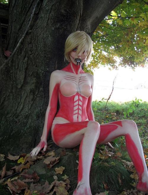 Cosplay Annie Leonhardt ~ Version Titan ~