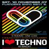 I Love Techno - Gent.
