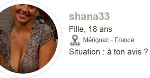 Encore un enculé de Troll qui se fait passer pour une fille  👉 shana33