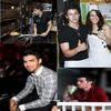 Joe au Restaurant+ Nick et Lucie James pizza+Joe au Do somthing Awards+Nick Yve St Laurent