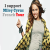 MILEY RAY CYRUS IN FRANCE !