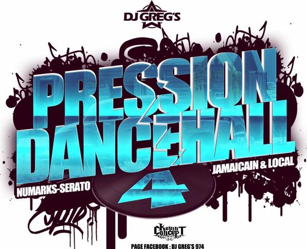 ★ DJ GREG'S PRESSION DANCEHALL Part.IV ★34MinuteMixLive#