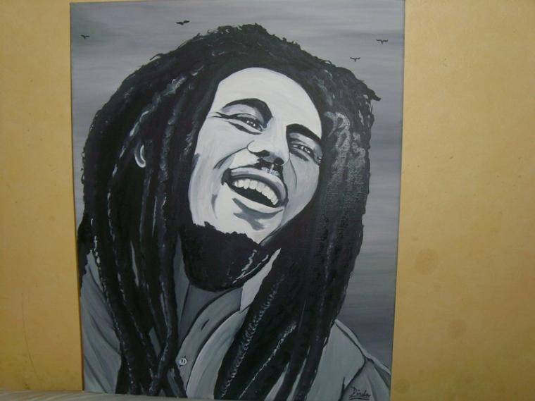 Bob Marley !! by linda Tatatron