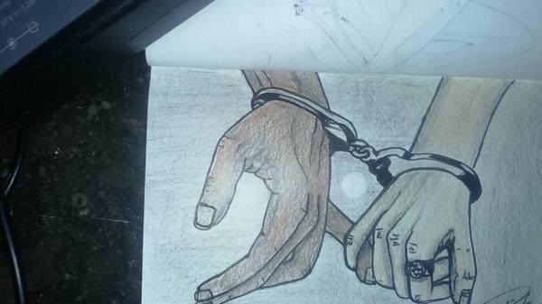 """BONNE SAINT VALENTIN LES GENS !! ;) """" Complicité"""" création  By Linda Tatatron...!!!"""