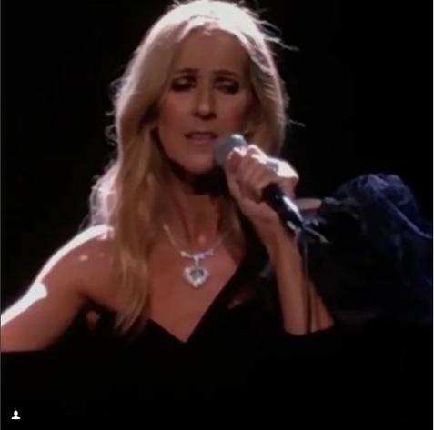 Tellement difficile de quitter la scène après une soirée comme celle-là… merci pour tout votre amour Perth ! – Céline xx…