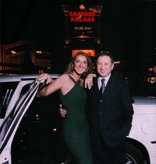 Céline et Michel Drucker à Vegas