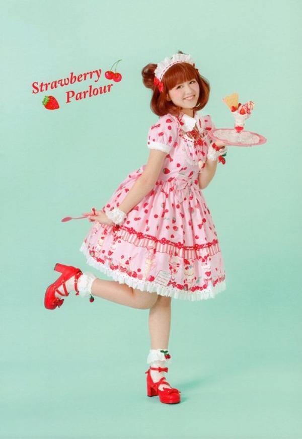 Sweet lolita:-)  Youpi :-)  Kawaii:-)  Japan:-)