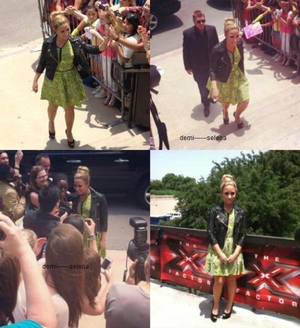 Demi Lovato: son arrivée à X Factor
