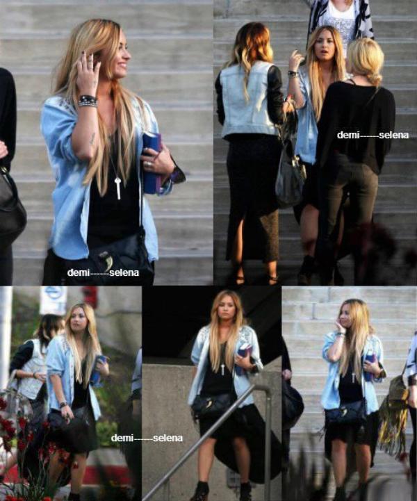 Demi Lovato: avec ses amies à Beverly Hills