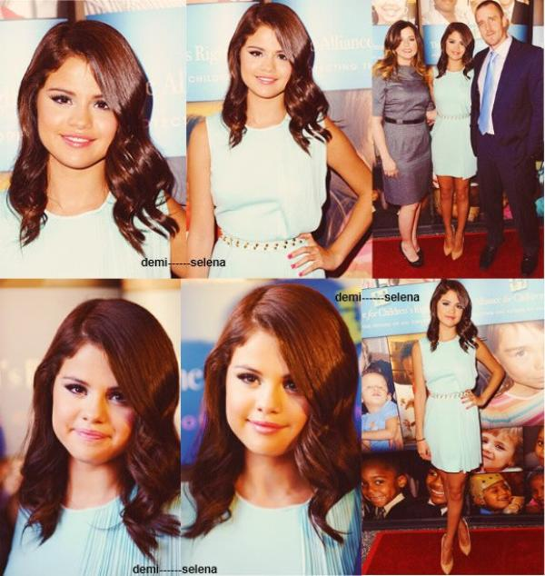 Selena Gomez: Alliance for children's rights