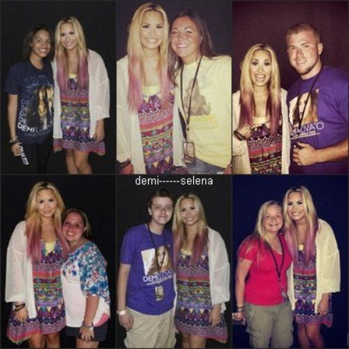 Demi Lovato: rencontre & accueil à Hershey en Pennsylvanie