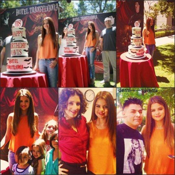 Selena Gomez: Press Event de Hotel Transylvania