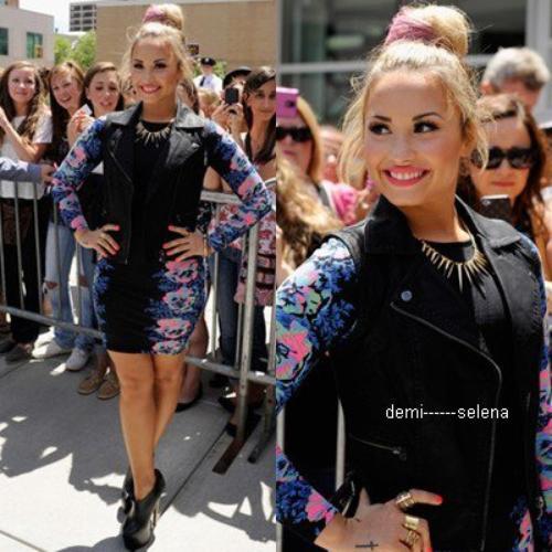 Demi Lovato: X Factor auditions à Providence, RI