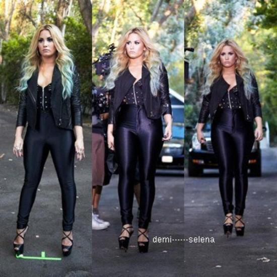 Demi Lovato: Voto Latino (backstage)