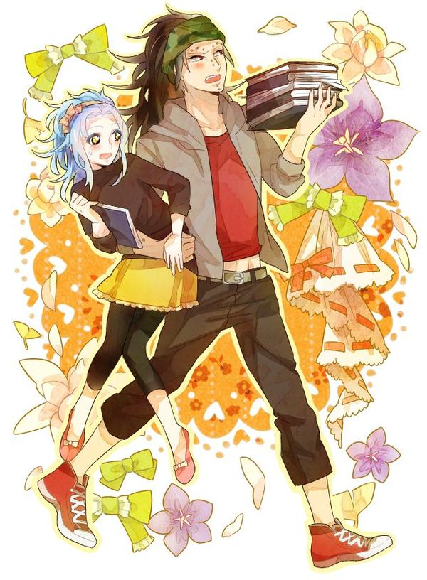 gajeel x levy family - photo #19