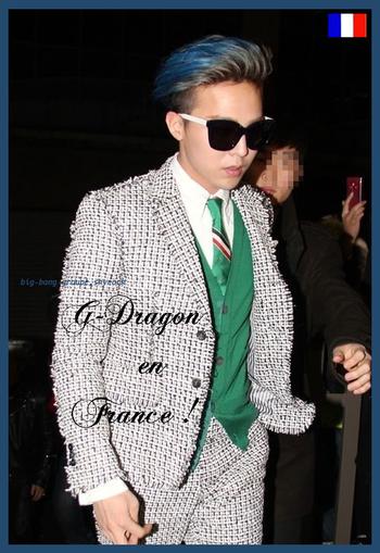 28062014 G-Dragon est en France !