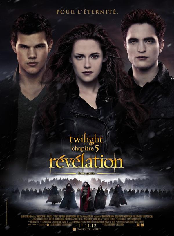 Affiche finale de Twilight Chapitre 5 BDP2