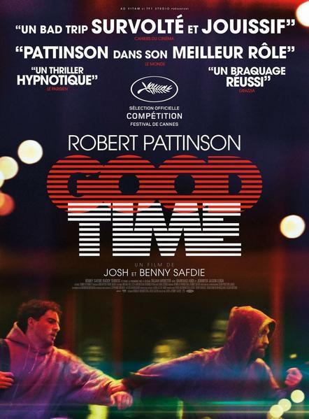 #Cinéma: Good Time de Benny Safdie et Josh Safdie et avec Robert Pattinson dispo le 13/09 sur Netflix