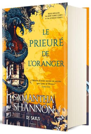 #Présentation: Le Prieuré de l'Oranger de Samantha Shannon éditions De Saxus.