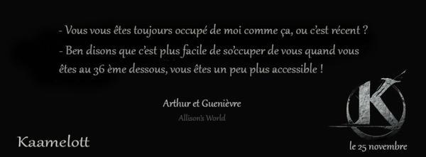 #Citations: Kaamelott d'Alexandre Astier