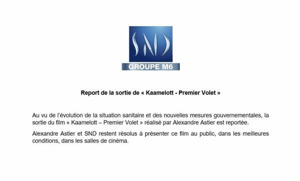 Cinéma: Le film Kaamelott premier volet est de nouveau reporté !