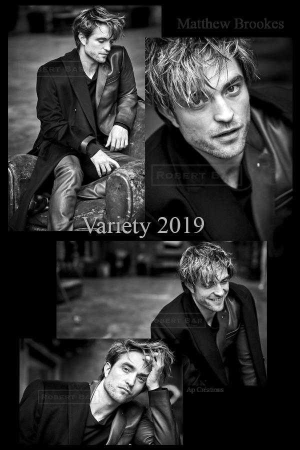 Robert Pattinson Variety 2019 par Matthew Brookes