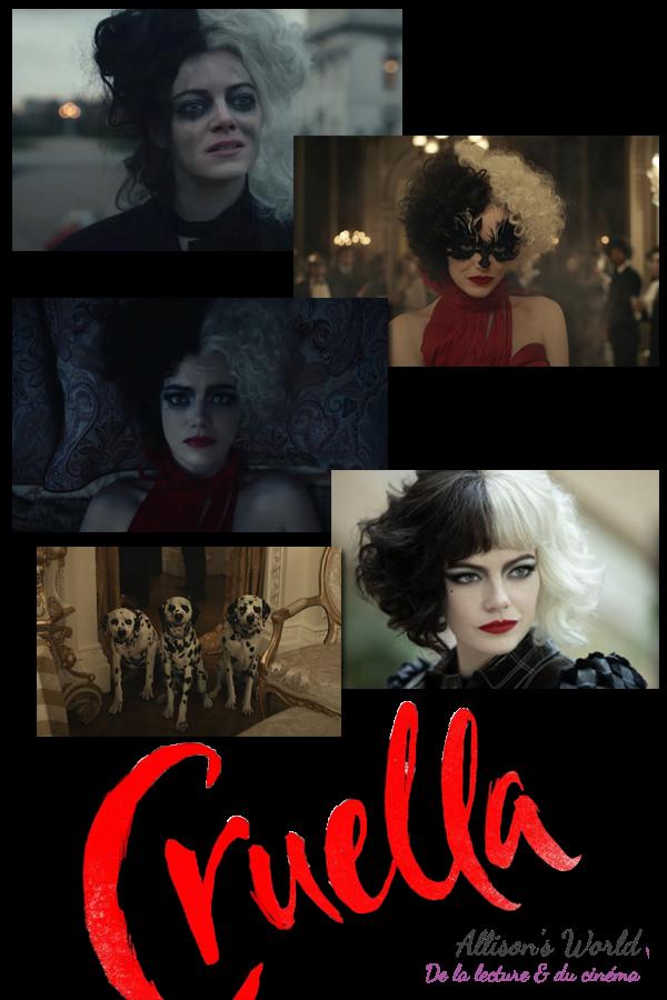 #Cinéma: Cruella de Walt Disney réalisé par Craig Gillespie et avec Emma Stone se dévoile.