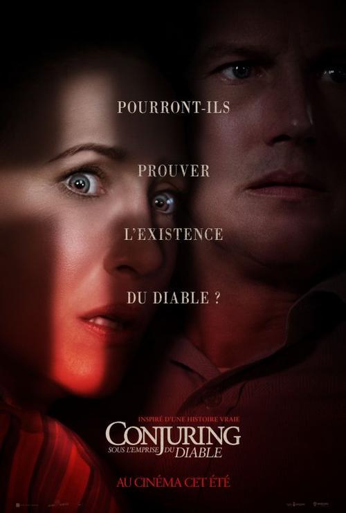 #Cinéma: Conjuring: Sous l'emprise du Diable de Michael Chaves actuellement au cinéma !