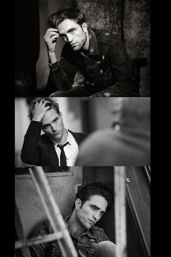 Robert Pattinson pour la campagne Dior Homme