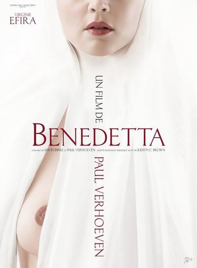 #Cinéma: Benedetta de Paul Verhoeven avec Virginie Efira  le 09 juillet