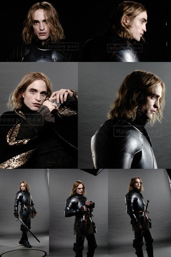 #Cinéma: voici quelques photos de Rob pendant la séance d'essayage et de maquillage pour The King