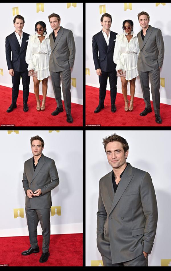 Robert Pattinson lors de l'ouverture de l'Academy Museum of Motion Pictures à Los Angeles