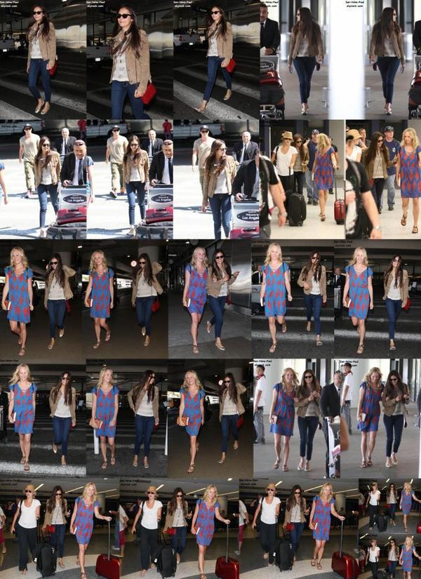 Paul à Santa Monica + Nina à l'aéroport de Los Angeles + Nian en Arizona