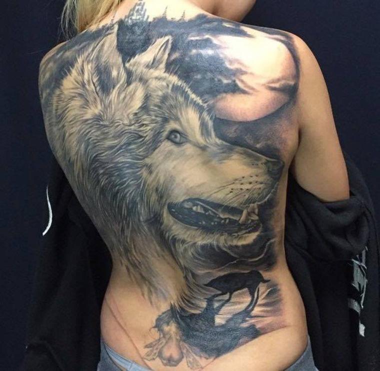 Quelle Est La Signification Des Tatouages De Loups Vous Voulez Vous