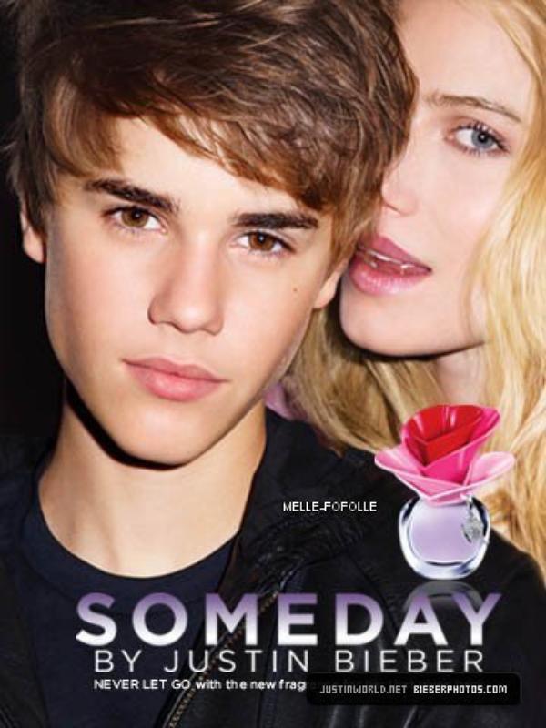 Affiche et Vidéo publicitaire du Parfum de Justin Bieber : Someday -----Qu'en pensez-vous ?