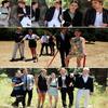 - Session 2008 : Robert Pattinson , Kris Stewart & le reste du cast posant pour Teen Vogue._ll__C'est .. spécial mais joli.-