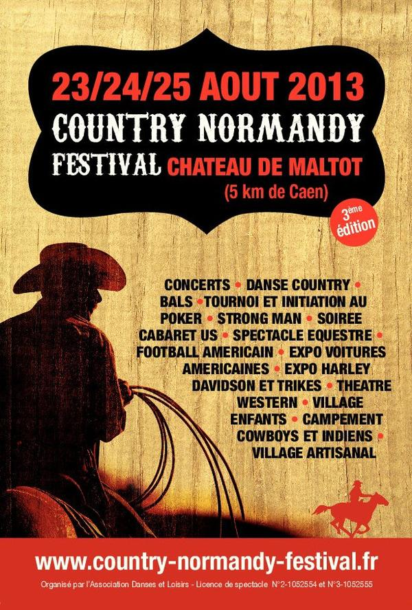 COUNTRY NORMANDY FESTIVAL