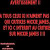 ARTICLE CONCERNANT MICKIE JAMES '