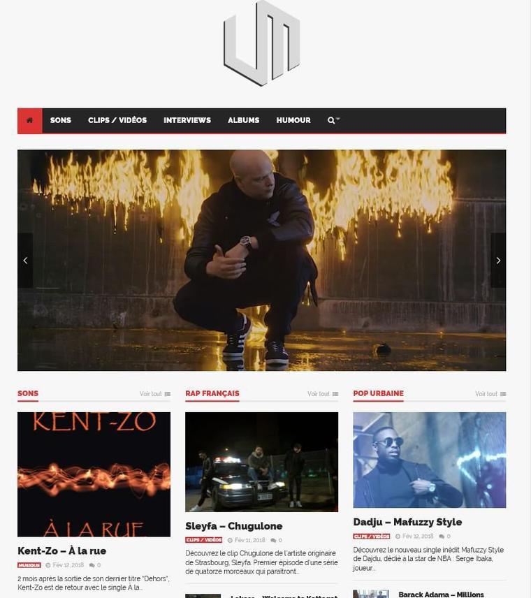Kent-Zo sur UltimateMag.net