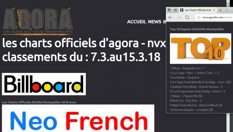 "Kent-Zo sur la radio ""Agora"" de Montpellier"