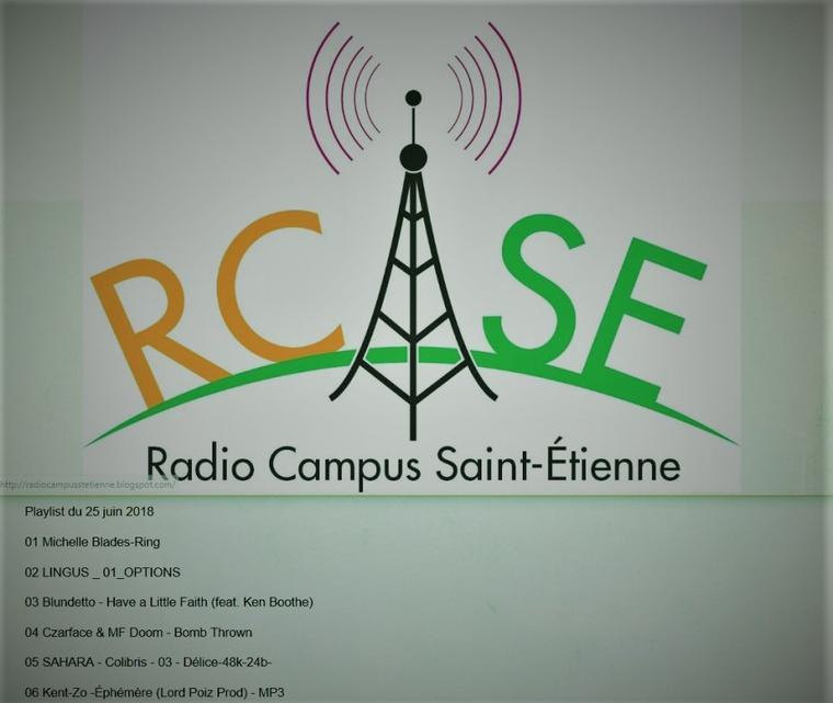 Kent-Zo sur Radio Campus Saint-Étienne