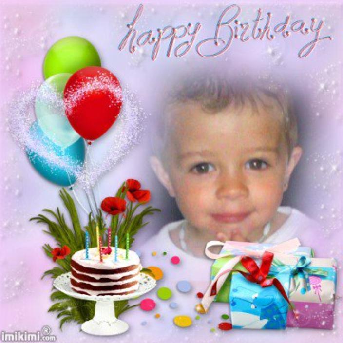 anniversaire de mon petit fils