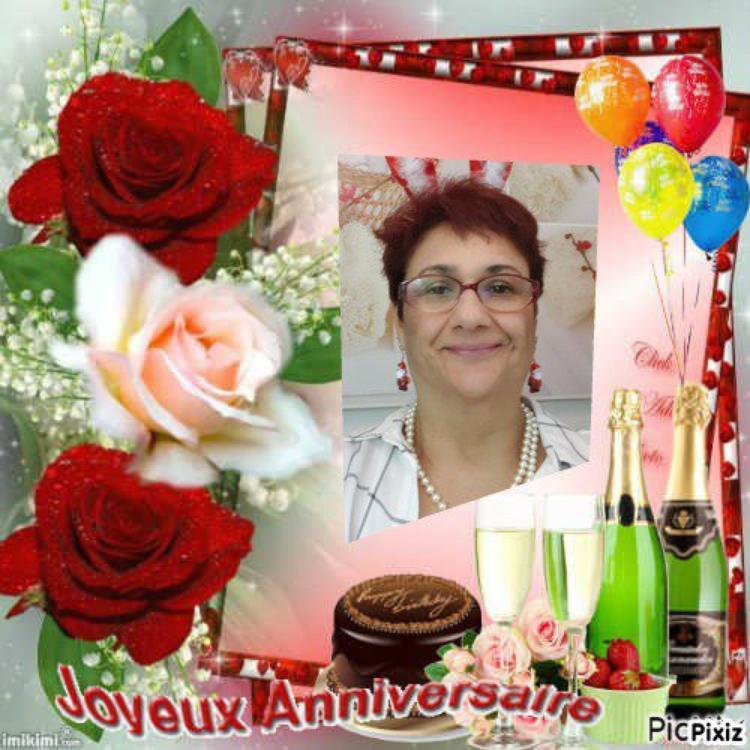 joyeux anniversaire mon amie /ginou3814