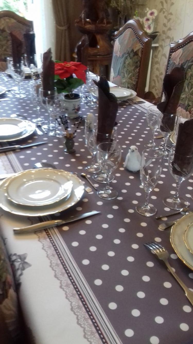 aujourd hui dimanche repas avec nos voisins