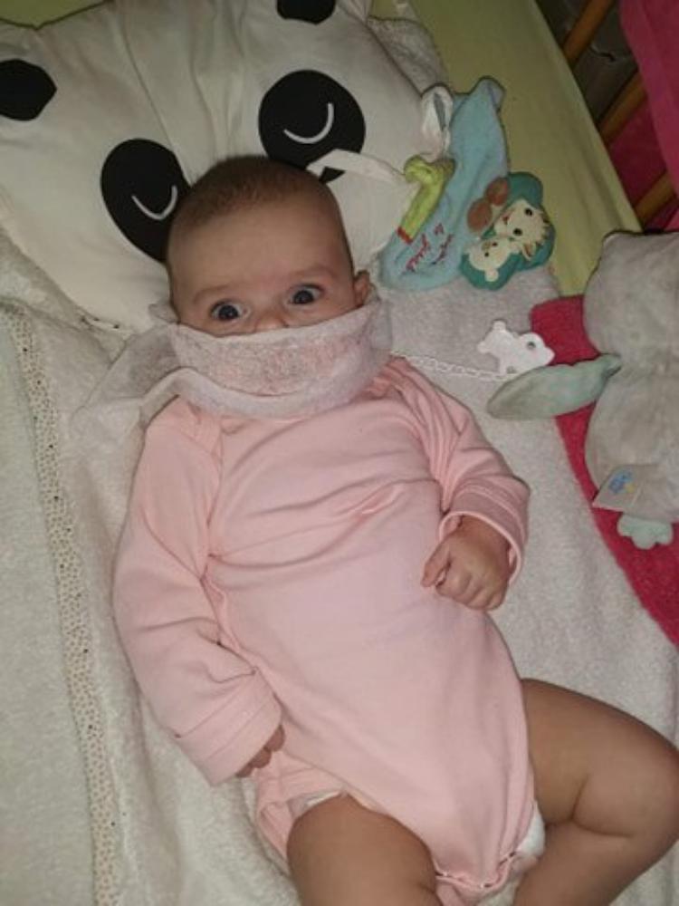 voila ma petite fille angelina 3 mois