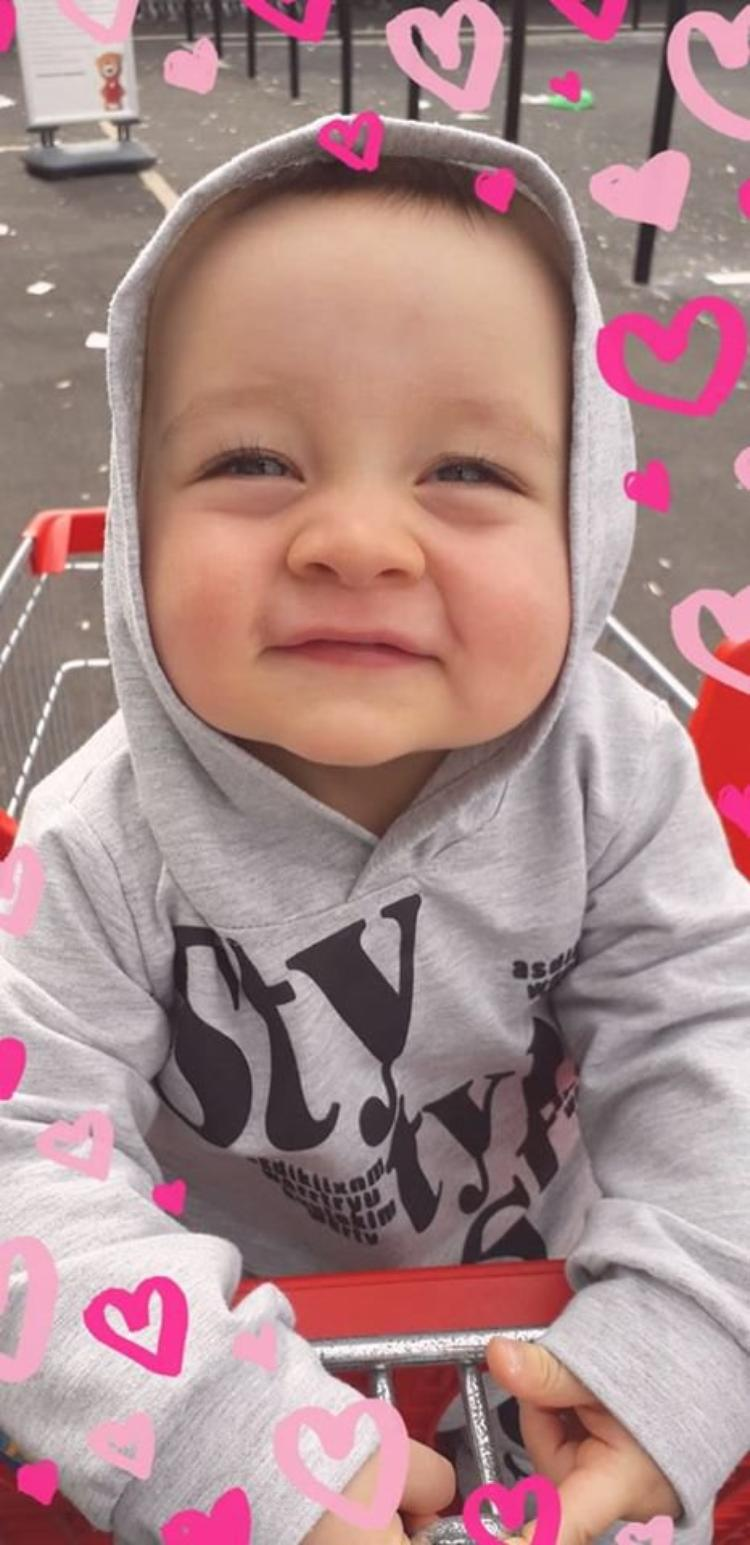 voila mon petit fils isaac 13 mois